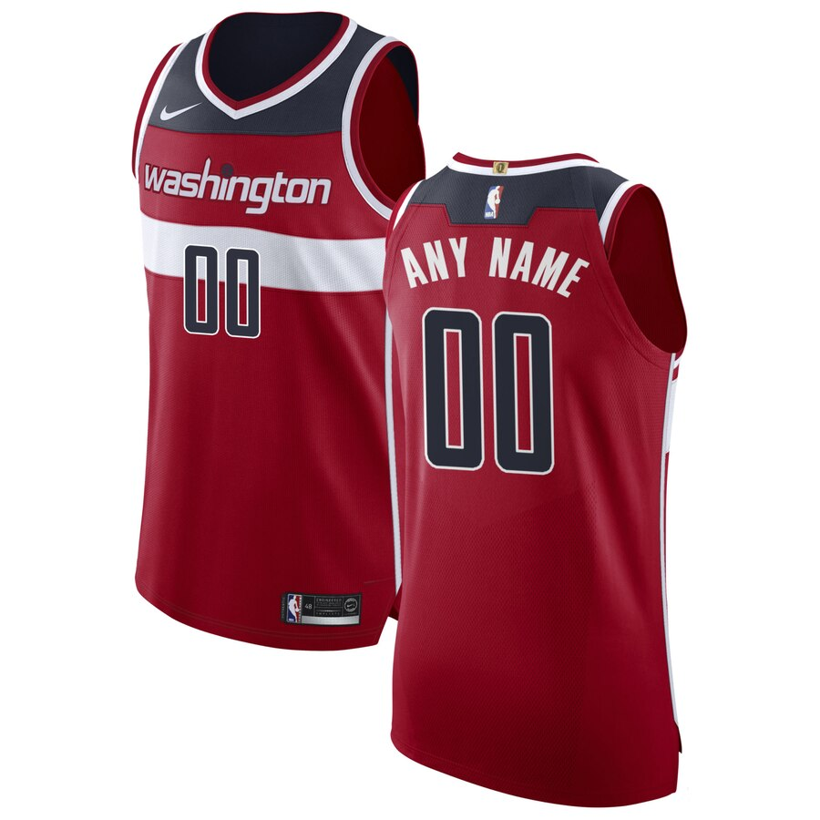 Washington Wizards Custom Letter and Number Kits for Red Jersey